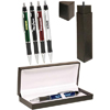 Metallic Action Pens Gift Set