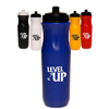 26 oz. Plastic Sports Bottles with Push top