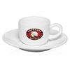 2.5 oz. Porcelain Espresso Cups with Saucer