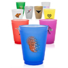 16 oz. Frost Flex Frosted Plastic Stadium Cups