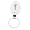 Reflection Oval Metal Keychains