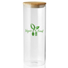 64 oz. Store N Go Glass Candy and Storage Jars with Bamboo Lids