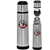 25 oz. Black Band Stainless Steel Vacuum Flasks