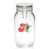 51 oz. Elrow Clip Top Glass Storage Jars