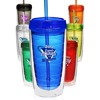 16 oz. Double Wall Acrylic Tumblers With Straw