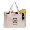 18W x 13H inch Snap Button Heavy Cotton Beach Bags