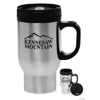 16 oz. Stainless Steel Personalized Travel Mugs