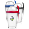 14 oz. Snack-To-Go Cups with Lid and Spoon