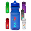 24 oz. Poly-Clear Bike Water Bottles