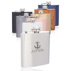 6 oz. Murano Stainless Steel Hip Flasks