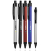 Rubber Coated Retractable Metal Pens