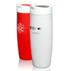 14 oz Vacuum Travel Mugs w/ Touch Stopper