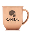 16 oz Stainless Steel Copper Coated Moscow Mule Mugs