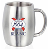 14 oz Stainless Steel Double Wall Mugs with Handles