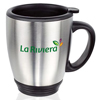 16 oz Double Wall Stainless Steel Bistro Mugs