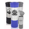 13.5 oz Push to Release Travel Mugs