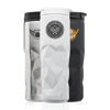 13.5 oz. Stainless Steel Travel Mugs with Geometric Pattern