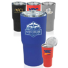 17 oz. Rubberized Stainless Steel Travel Mugs