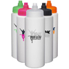 32 oz. HDPE Plastic Water Bottles with Quick Shot Lid