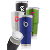 30 oz. Tire Grip Stainless Steel Travel Tumblers