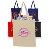4oz Color Cotton Canvas Tote Bags