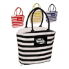 Striped Mariner Tote Bags