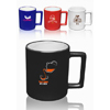 11 oz. Square Handle Coffee Mugs
