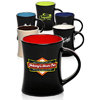 9 oz. Aztec Diner Flare Two Tone Coffee Mugs