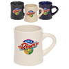 12 oz. Thick Grip Glossy Ceramic Diner Mugs