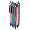 3-in-1 Plastic Pens with Stylus and Cell Stand